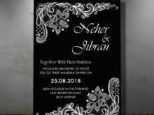 Invitation Card Template White