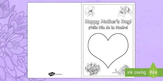 86 The Best Mother S Day Card Template Twinkl Templates by Mother S Day Card Template Twinkl
