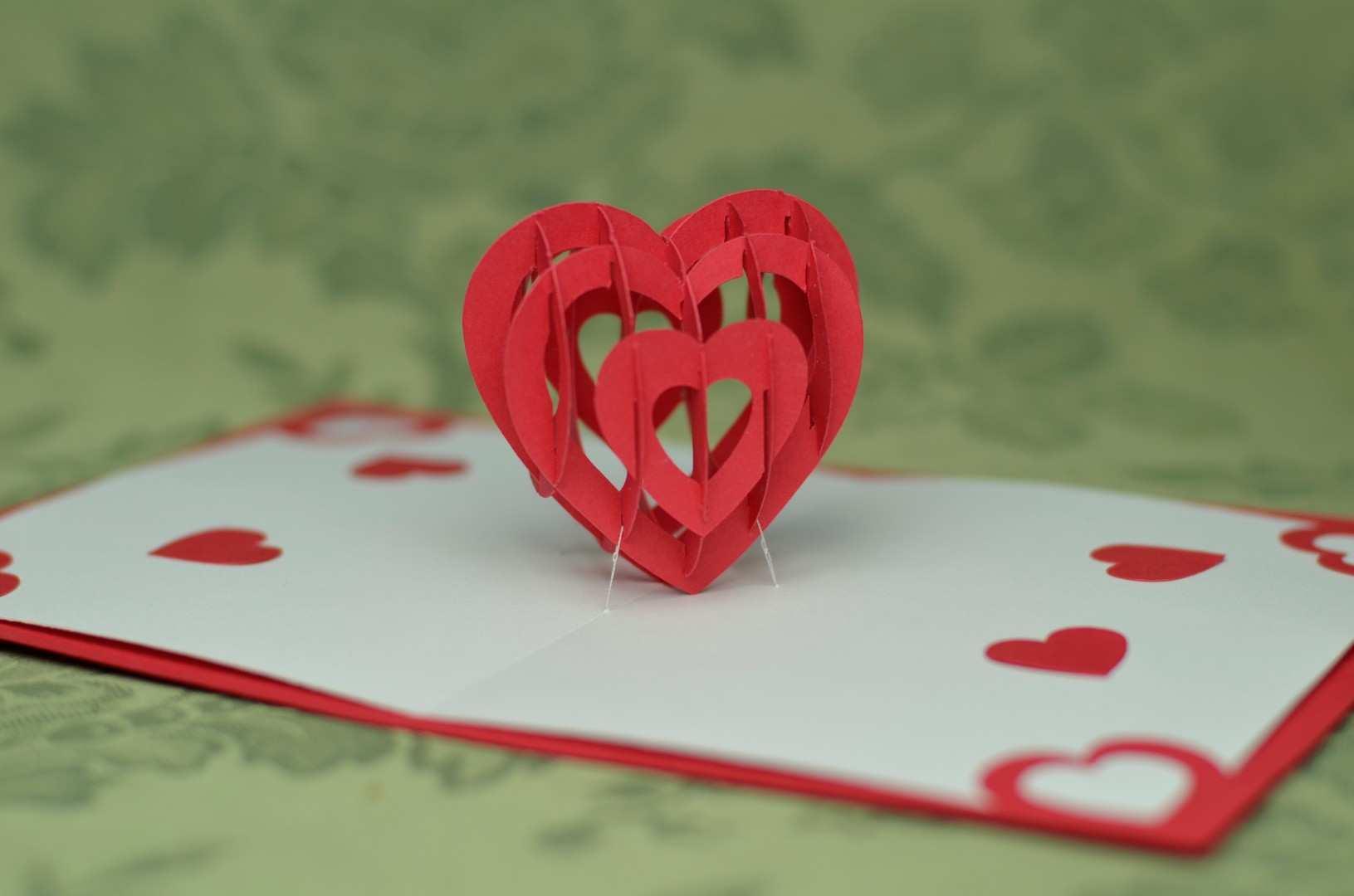 86 The Best Pop Up Card Tutorial Valentine in Word for Pop Up Card Tutorial Valentine