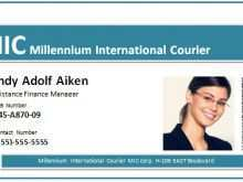 86 Visiting Id Card Template For Microsoft Word Now with Id Card Template For Microsoft Word