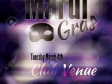 86 Visiting Mardi Gras Flyer Template Formating for Mardi Gras Flyer Template