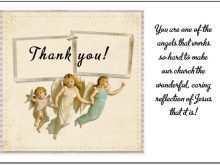 86 Visiting Volunteer Thank You Card Template PSD File by Volunteer Thank You Card Template