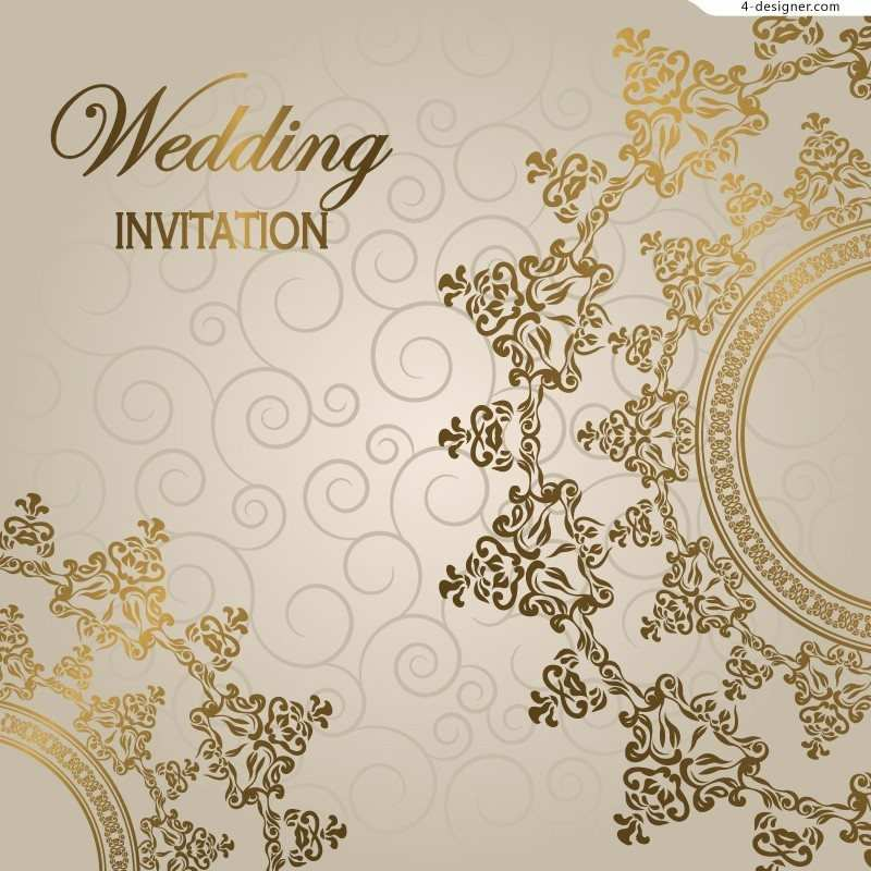 Wedding Invitations Card Background Cards Design Templates