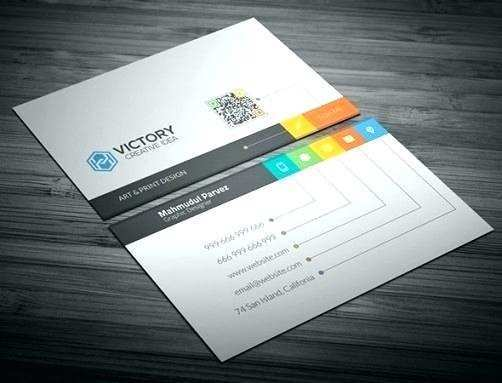 microsoft word 2 sided business card template  cards
