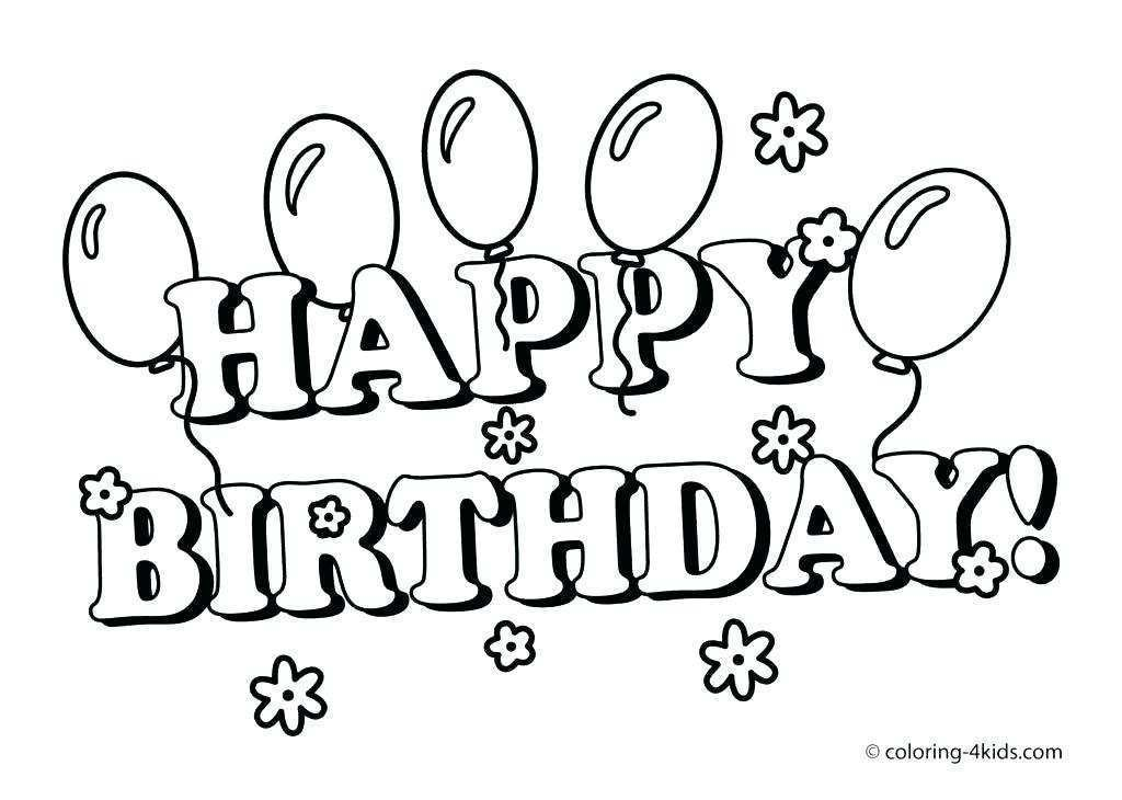 87 Create Birthday Card Template To Color With Stunning Design by Birthday Card Template To Color