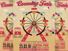 87 Create County Fair Flyer Template PSD File with County Fair Flyer Template