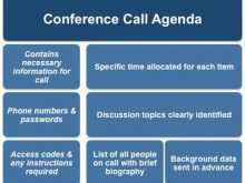 87 Creating Agenda Conference Call Template Templates for Agenda Conference Call Template