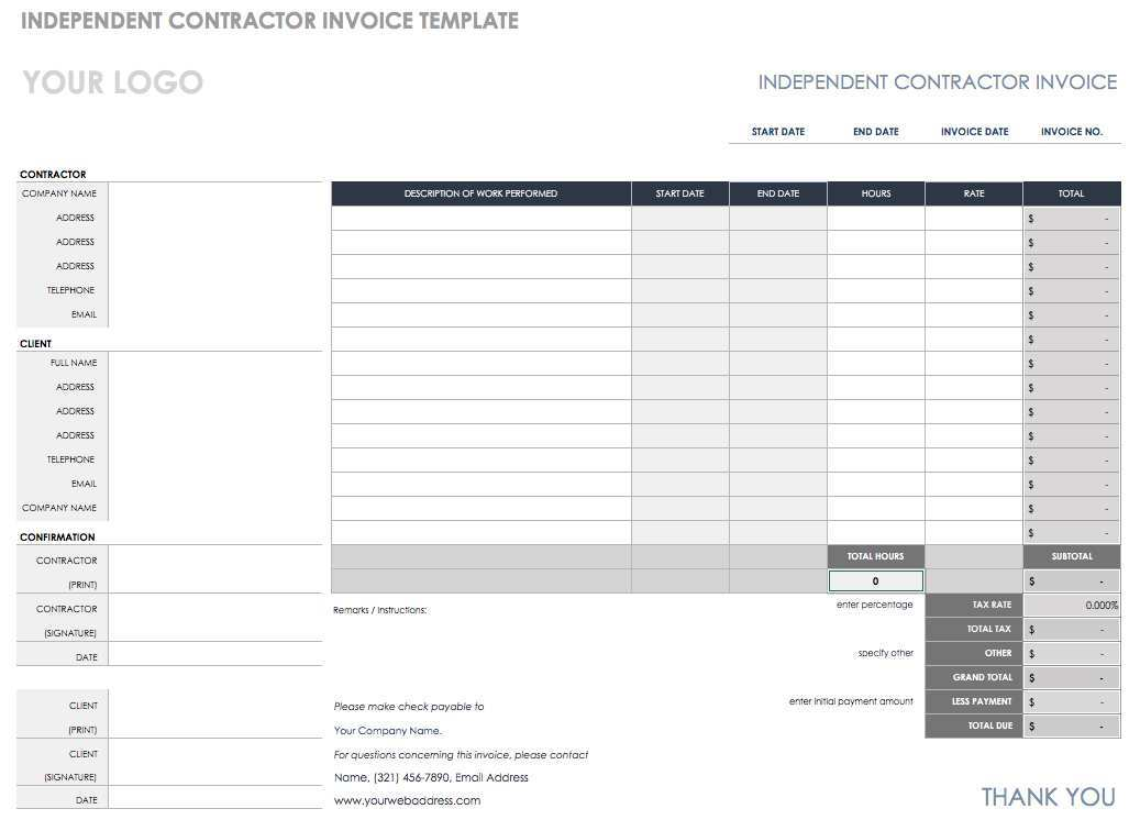 87 Creating Construction Invoice Template For Mac Templates with Construction Invoice Template For Mac