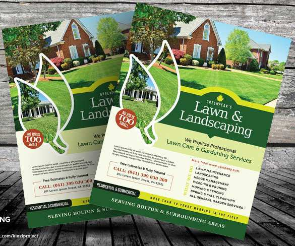 87 Creative Mowing Flyer Template for Ms Word by Mowing Flyer Template