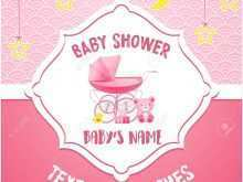 87 Customize Our Free Baby Shower Name Card Template Templates with Baby Shower Name Card Template