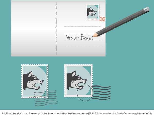 87 Customize Postcard Design Template Illustrator for Ms Word by Postcard Design Template Illustrator