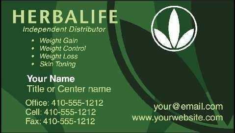 87 Format Herbalife Business Card Template Download For Ms Word By Herbalife Business Card Template Download Cards Design Templates