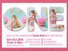 87 Free Birthday Invitation Card Template For Girl For Free with Birthday Invitation Card Template For Girl