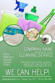 87 Free Cleaning Service Flyer Template With Stunning Design with Cleaning Service Flyer Template