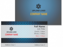 87 Free Printable Business Card Design And Print Online Templates by Business Card Design And Print Online
