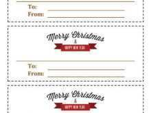 Christmas Savings Card Template