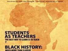 Black History Month Flyer Template Free