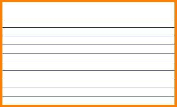 Index Cards Template Word from legaldbol.com