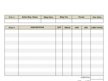 87 Online Invoice Template Xls Now by Invoice Template Xls