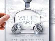 87 Printable All White Party Flyer Template Free For Free with All White Party Flyer Template Free