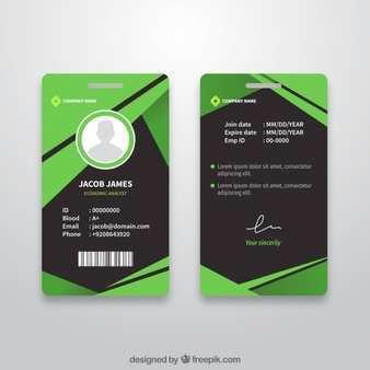 87 Printable Vertical Id Card Template Free Download For Ms Word With Vertical Id Card Template Free Download Cards Design Templates