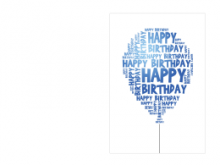 Free Word Greeting Card Templates