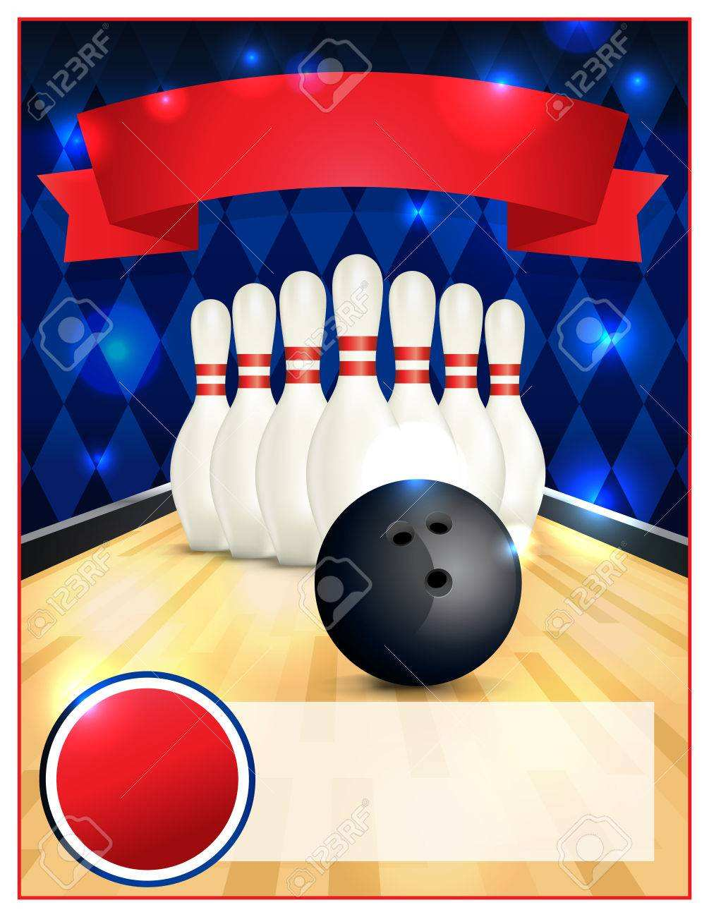 87 Standard Bowling Flyer Template Free for Ms Word for Bowling Flyer Template Free