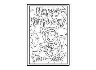 87 The Best Birthday Card Template Brother Maker with Birthday Card Template Brother