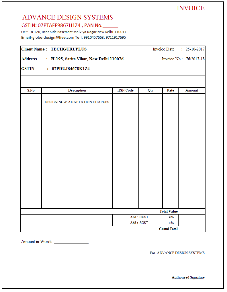 87 Visiting Basic Tax Invoice Template Download by Basic Tax Invoice Template