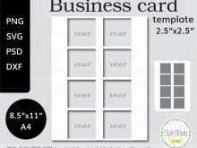 87 Visiting Business Card Template A4 Formating with Business Card Template A4