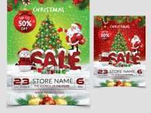 87 Visiting Christmas Sale Flyer Template With Stunning Design by Christmas Sale Flyer Template