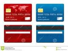 88 A Credit Card Template by A Credit Card Template