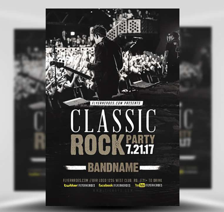 88 Best Band Flyers Templates in Word with Band Flyers Templates