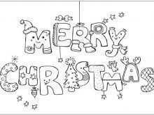 88 Best Christmas Card Templates Coloring Pages Photo for Christmas Card Templates Coloring Pages