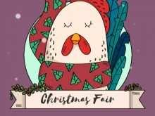 88 Best Christmas Fair Flyer Template With Stunning Design by Christmas Fair Flyer Template