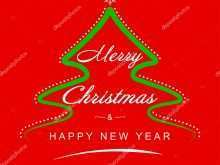88 Christmas New Year Greeting Card Templates Download for Christmas New Year Greeting Card Templates