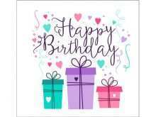 88 Create Birthday Card Template For Wife Maker by Birthday Card Template For Wife