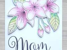 88 Create Homemade Mothers Day Card Templates in Word by Homemade Mothers Day Card Templates