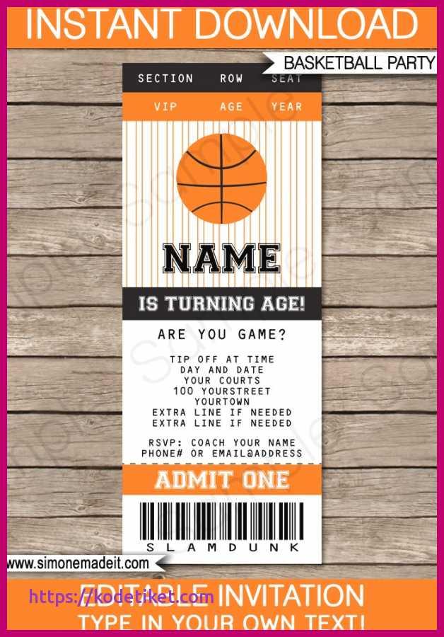 88 Creative Birthday Card Template Basketball Formating with Birthday Card Template Basketball