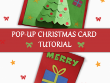 88 Creative Pop Up Card Tutorial Christmas for Ms Word with Pop Up Card Tutorial Christmas