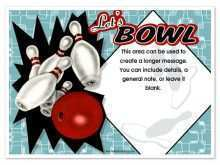 88 Customize Bowling Flyer Template Word Maker for Bowling Flyer Template Word