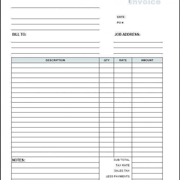 Free Editable Invoice Template Pdf from legaldbol.com