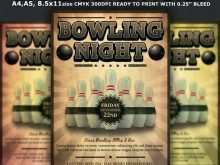 88 Format Bowling Event Flyer Template Templates with Bowling Event Flyer Template
