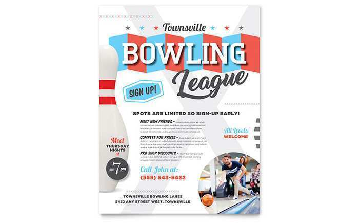 88 Format Bowling Flyer Template Word in Word by Bowling Flyer Template Word