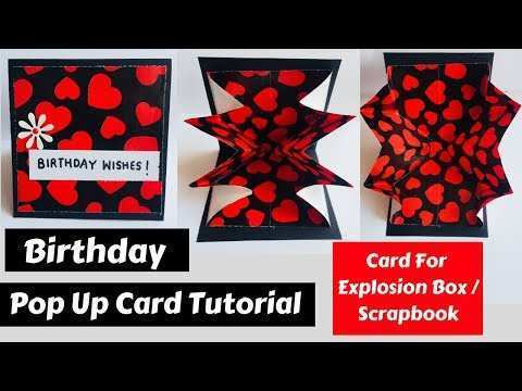 88 Free Pop Up Card Tutorial For Scrapbook PSD File with Pop Up Card Tutorial For Scrapbook