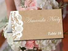 88 Free Printable Name Card Template Wedding Tables Photo with Name Card Template Wedding Tables