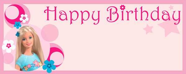 88 How To Create Birthday Card Template Barbie in Photoshop by Birthday Card Template Barbie