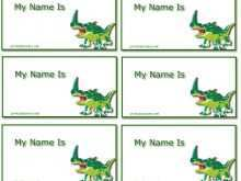 88 Online Child Name Card Template With Stunning Design for Child Name Card Template