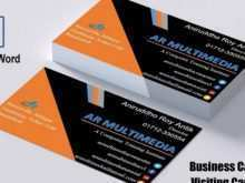 Microsoft Word 2007 Business Card Template Download