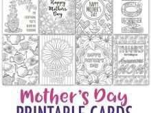 88 Online Mother S Day Card Templates To Print Now by Mother S Day Card Templates To Print